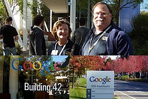 Touring the Googleplex in Mountain View California