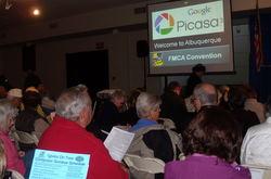 Picasa seminars at FMCA in Albuquerque