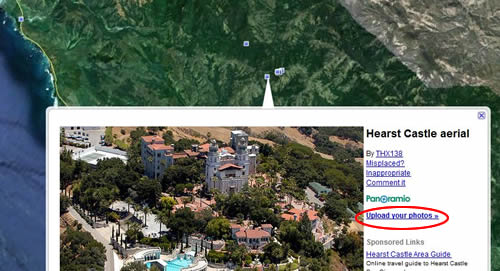 Panoramio Pictures of Hearst Castle