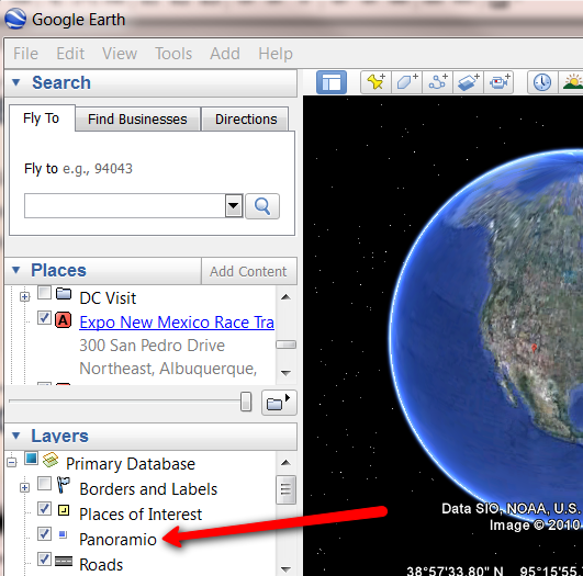 Google Earth Pictures
